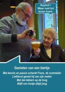 WMTY - genieten van een biertje