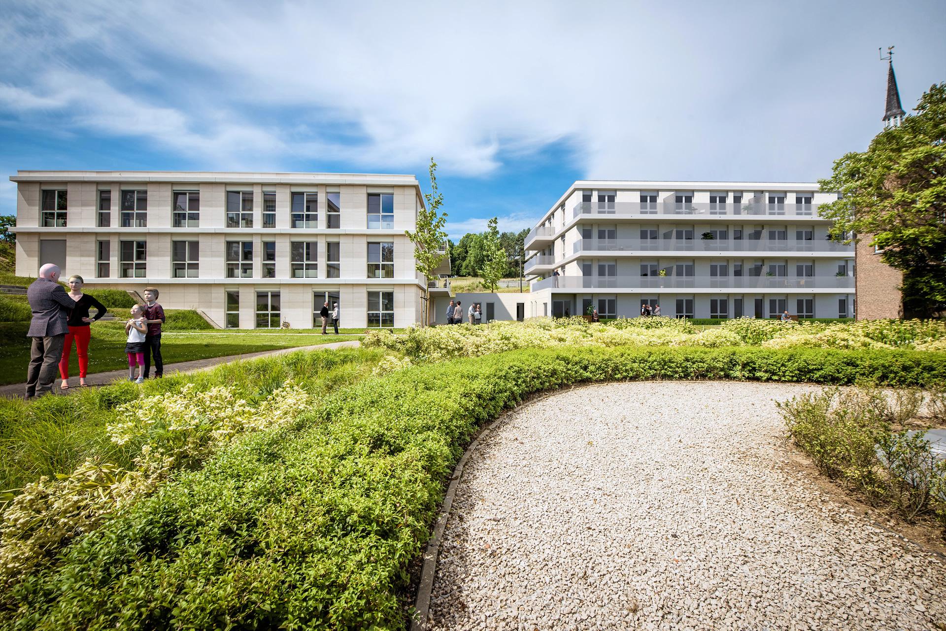 Assistentiewoningen<br />een thuis bouwen in Huldenberg